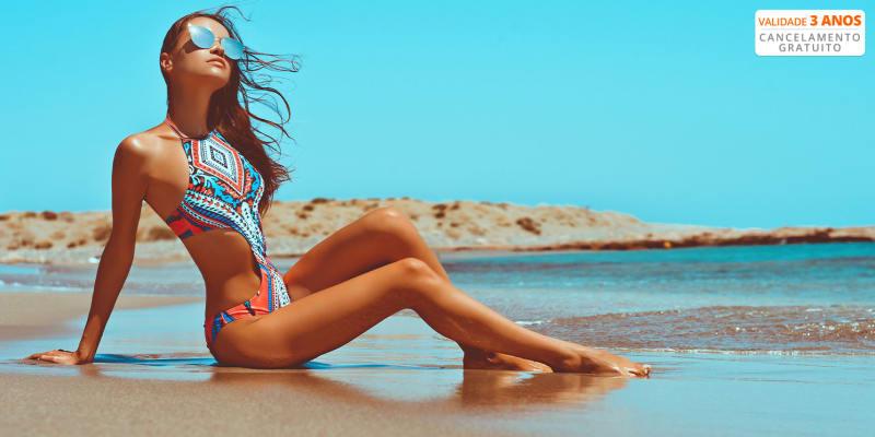 O Verão Vem Aí! 3 Sessões de Tratamentos Redutores & Adelgaçantes | Saldanha