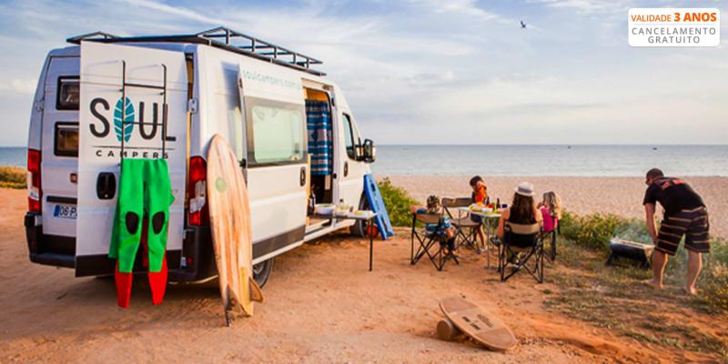 Soul Campers - Faro | Road Trip em Campervan com Amigos ou Família