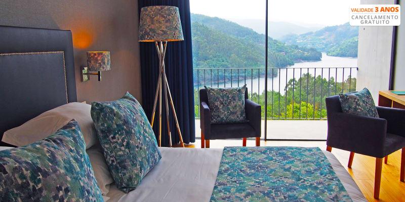 Aquafalls Nature Hotel 5* - Gerês | Estadia & Spa Vista Rio com Opção Meia-Pensão e Pensão Completa