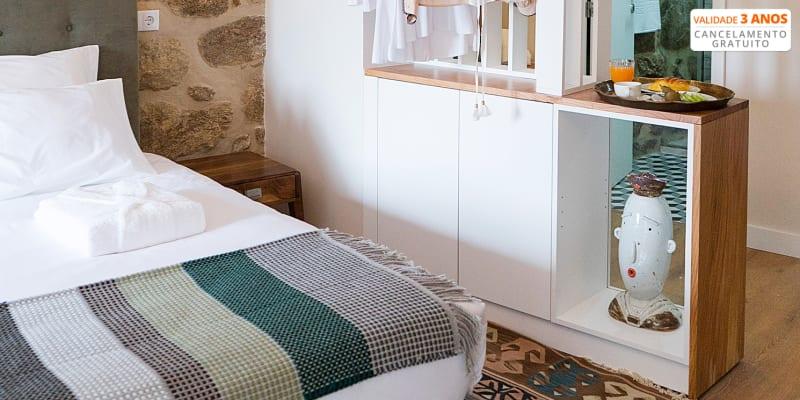 Casa da Ana Boutique Guest House - Barcelos   Escapadinha a Dois com Opção Jantar e Pack Romântico