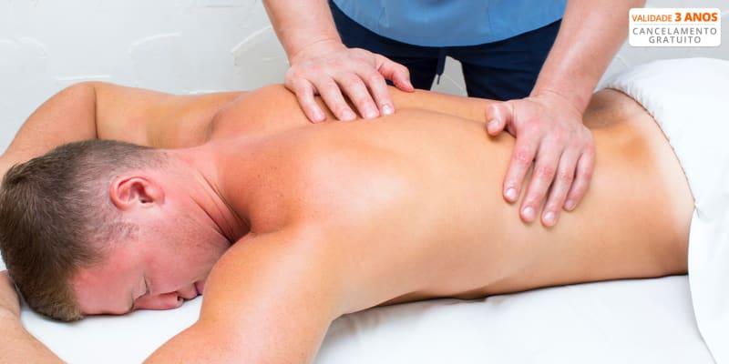 Sinta-se Renovado! Massagem Relax de Corpo Inteiro para Homem - 45 Min | Laranjeiras