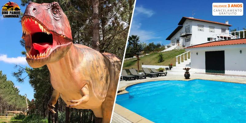 Quinta do Forno - Vimeiro | Estadia & Piscina Interior com Opção Jantar e Entrada no Dino Parque