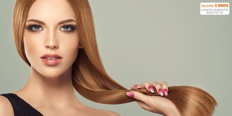 Alisamento a Laser Photon Hair com Fórmula de Fortalecimento + Corte Térmico ou Corte Bordado | Lisboa