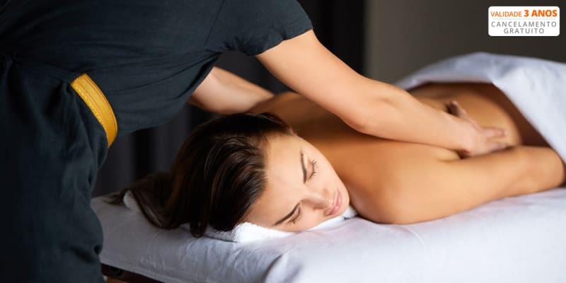 Massagem de Relaxamento de Corpo Inteiro - 50 Minutos   Colinas do Cruzeiro