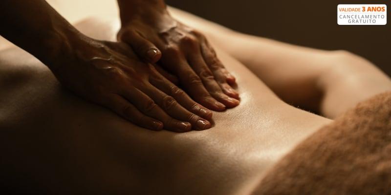 Especial para Si! Massagem de Relaxamento - 50 Min | Avenida da Liberdade