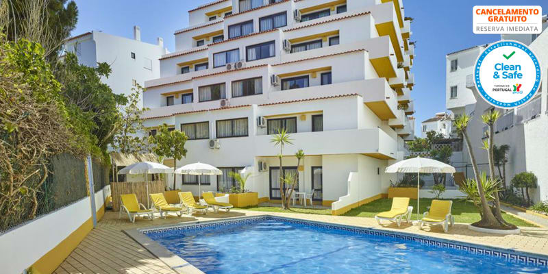 Cheerfulway Ouranova Apartamentos - Praia da Oura | Estadia para até 6 Pessoas em Apartamento T2