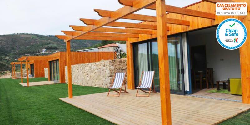 Douro Cister Hotel Resort 4* - Douro   Estadia em Família em Bungalow
