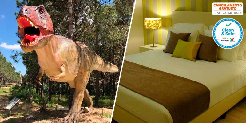 Hotel Dom Lourenço - Lourinhã   Estadia com Opção Jantar ou Dino Parque