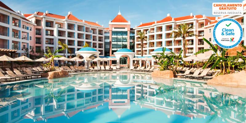 Hilton Vilamoura 5* - Algarve   Estadia de Sonho a Dois c/ Opção Meia-Pensão e Acesso ao Spa