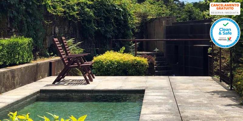 Casa Moinho da Porta - Póvoa de Lanhoso | Estadia até 4 pessoas c/ Piscina à Beira-rio