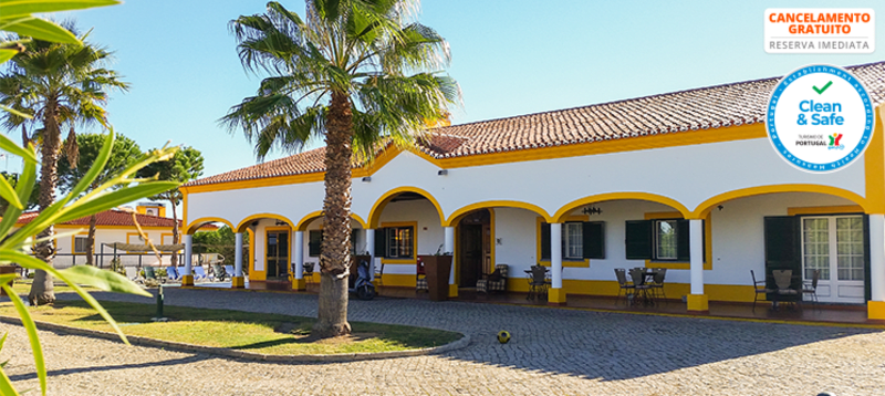 Herdade do Rio Torto - Portel | Estadia Junto à Praia Fluvial com Opção Jantar