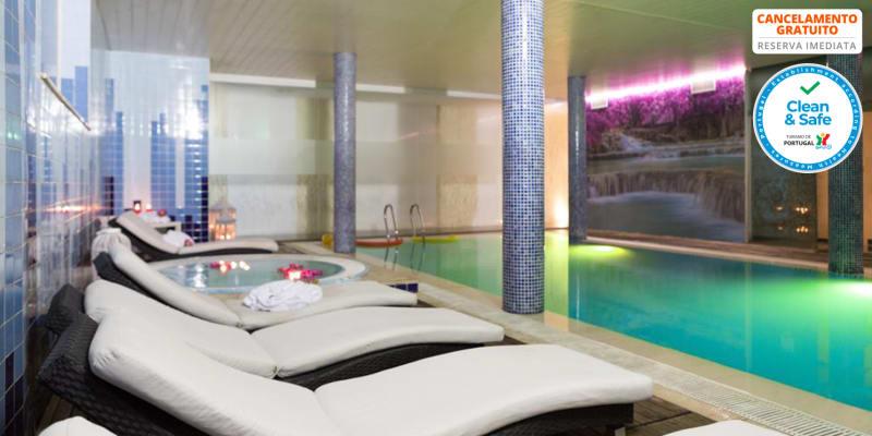 Hotel Ílhavo Plaza & Spa 4*   Estadia & Spa com Opção Jantar e Massagem