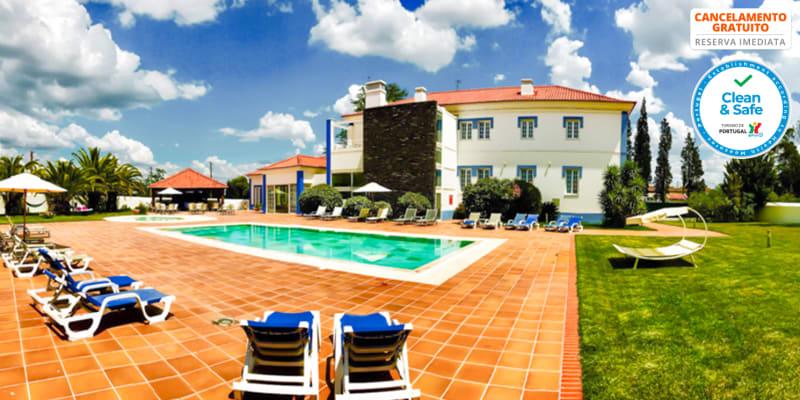 Santa Bárbara dos Mineiros Hotel Rural 4*- Lousal  | Estadia de 1 ou 2 Noites com Opção Jantar