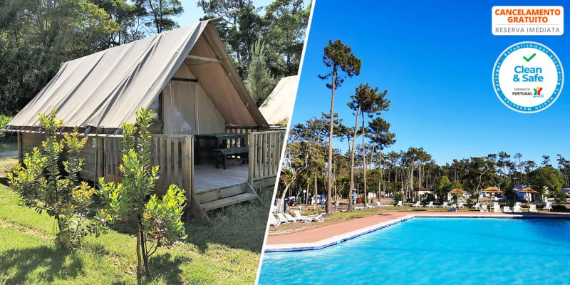 Mira Lodge Park - Praia de Mira | Noites em Tenda Amazone para 4 Pessoas