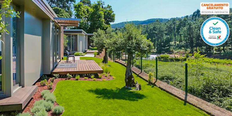 Prazer da Natureza Resort & Spa - Caminha   Estadia & Spa em Villa T2 com Opção Meia-Pensão