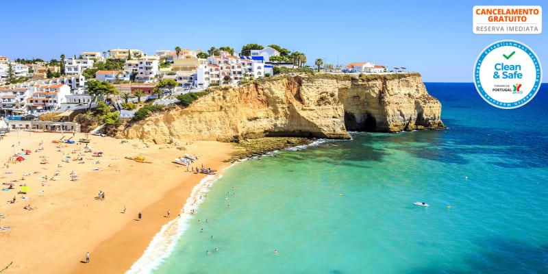 Hotel Carvoeiro Plaza - Algarve | Estadia Junto ao Mar - Praia do Carvoeiro