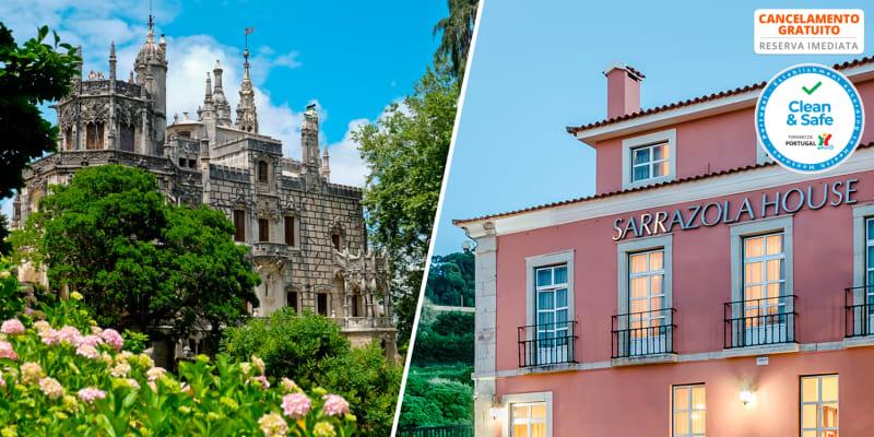 Sarrazola House - Sintra   Estadia em Família com Opção Entradas na Quinta da Regaleira e no Palácio da Pena