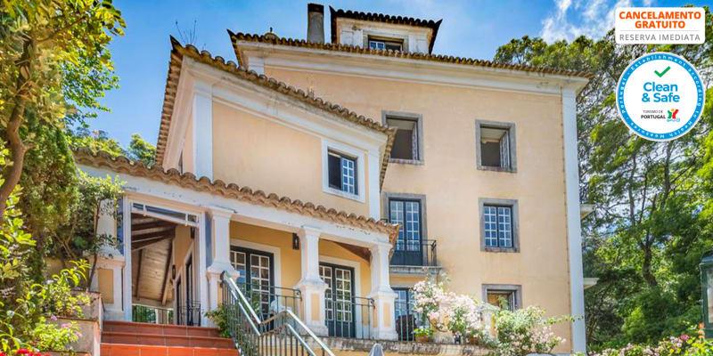 Lawrences Hotel 5* - Sintra | Estadia Romântica com Opção Meia-Pensão