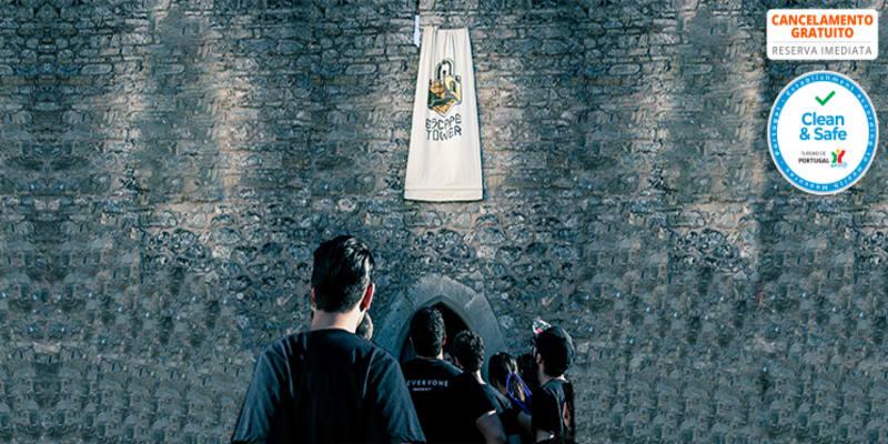 Escape Tower na Torre Medieval de Óbidos - Jogo de 1 Hora para Dois | 15 e 16 Maio