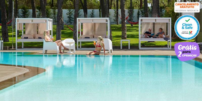 Alcazar Hotel & SPA 4* - Monte Gordo | Férias em Família Junto à Praia com Opção Meia-Pensão