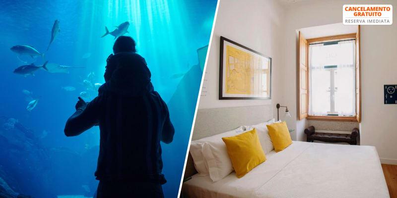 Otília Hotel & Apartamentos - Lisboa | Estadia em Apartamento na Rua Augusta & Desconto no Oceanário