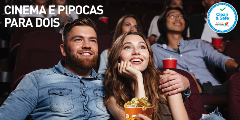 Cinema e Pipocas para Dois | 6 Locais à Escolha