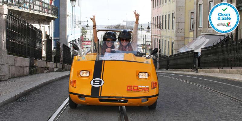 Tour de GoCar por Lisboa a Dois | Passeio em Carro Contador de Histórias Guiado por GPS!