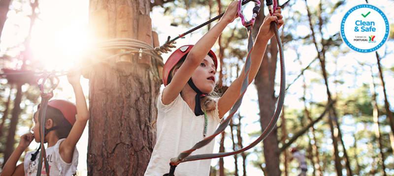 Entrada no Pé Descalço Eco Parque + Jogos + Trilho na Natureza | Viana do Castelo