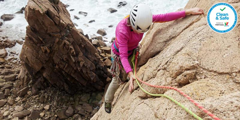 Escalada nas Falésias do Cabo da Roca - 1 ou 2 Pessoas | Desafie os Seus Limites!