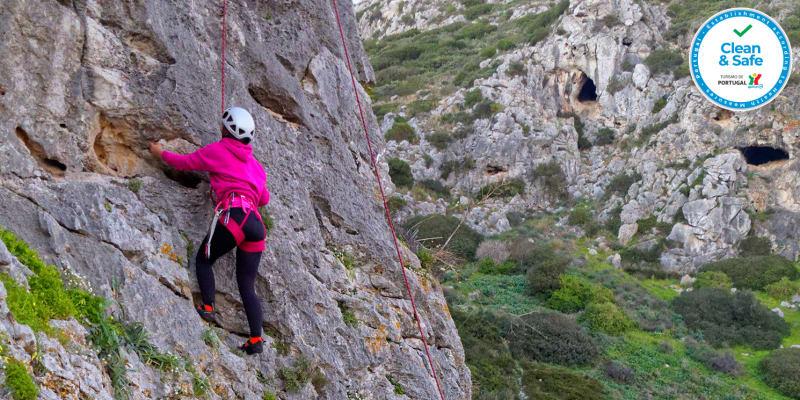 Iniciação à Escalada - 1 ou 2 Pessoas | Sintra, Cascais ou Arrábida