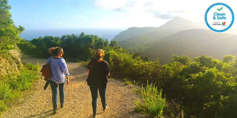 Caminhada Ecológica na Arrábida c/ Prova de Vinhos Locais - 1 ou 2 Pessoas   Breathe Arrábida
