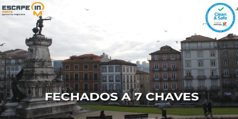 Escape in City - Porto | Encontre as 7 Chaves Perdidas pela Invicta! Até 5 Pessoas