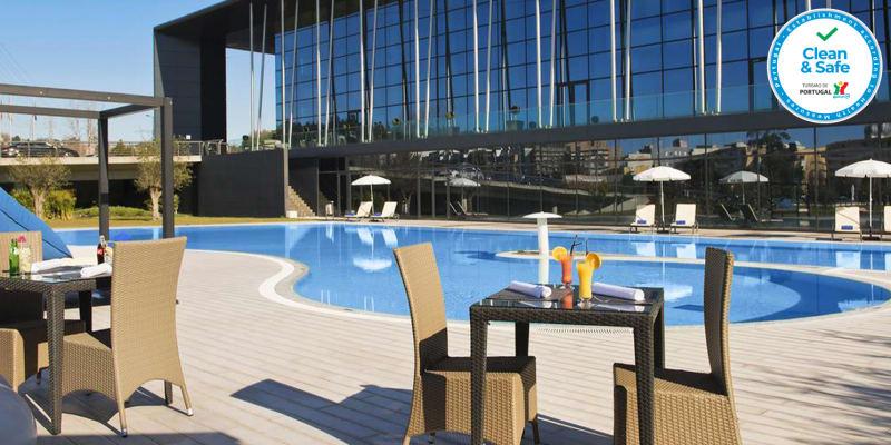 Meliã Braga Hotel & SPA 5*   Estadia & Spa de Sonho com Opção Jantar e Massagens