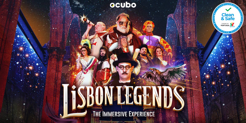 «Lisbon Legends - The Immersive Experience»   Espectáculo Imersivo 360º nas Ruínas do Carmo