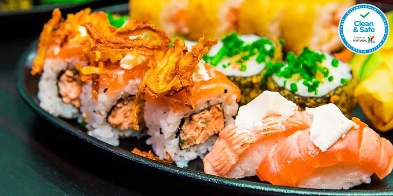 Brunch Japonês para Dois no Centro de Lisboa | Sushi Hanzo