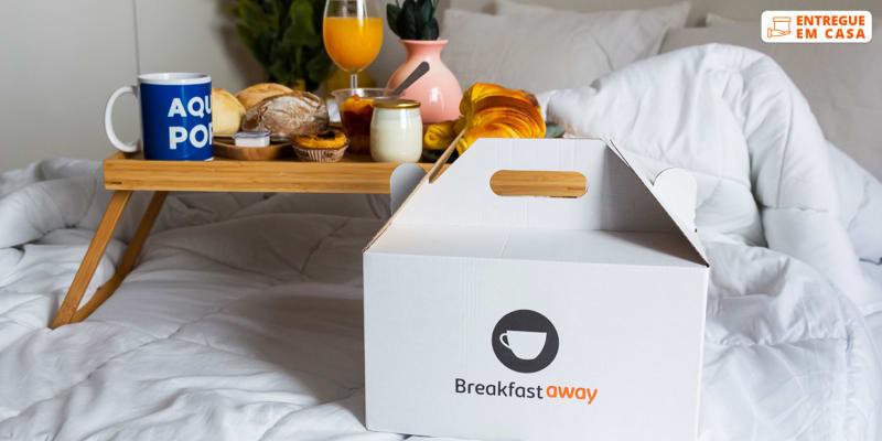 Entrega Grátis - Lisboa | Pequeno-Almoço de Hotel em Casa para Dois! Breakfastaway