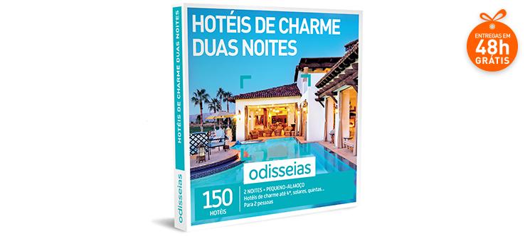 Hotéis de Charme Duas Noites   150 Hotéis