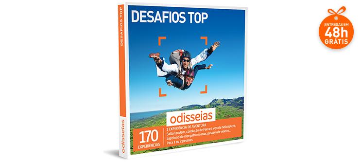 Desafios Top | 170 Experiências