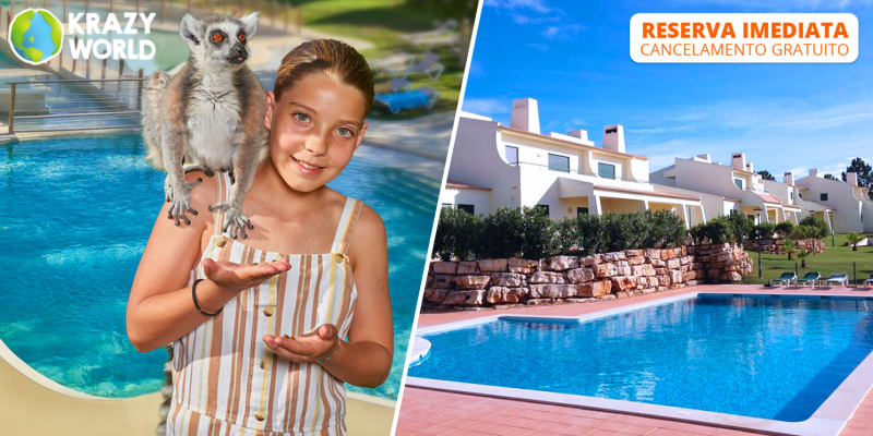 Glenridge Beach & Golf Resort - Albufeira | Estadia em T2 com Opção Entradas Zoo de Lagos ou Krazy World
