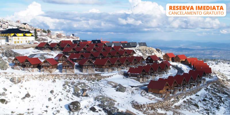 Luna Chalets da Montanha - Serra da Estrela | Estadia na Neve até 6 Pessoas
