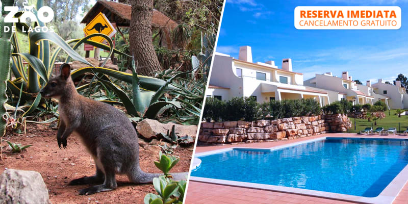 Glenridge Beach & Golf Resort - Albufeira | Estadia em T1 com Opção Entradas Zoo de Lagos ou Krazy World
