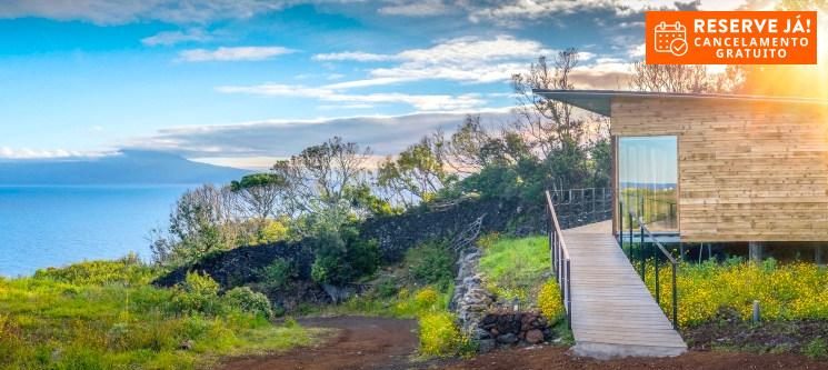 Intact Farm Resort - S. Jorge nos Açores | Estadia em Bungalow com Vista Mar