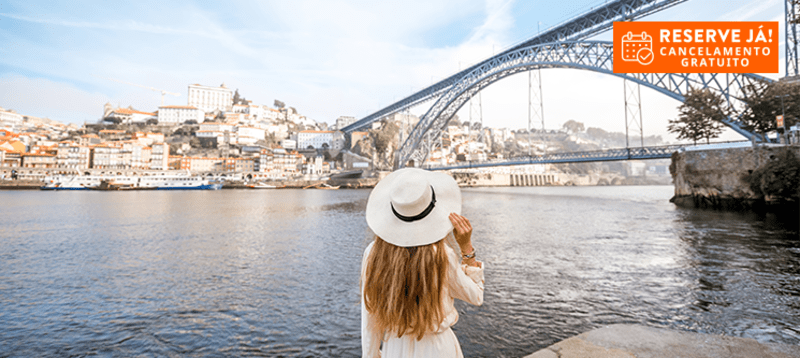 Hotel Vice-Rei | Estadia na Invicta com Cruzeiro das 6 Pontes e Opção Jantar
