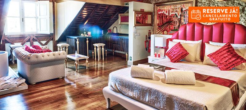 Solar Antigo Luxury Coimbra | Estadia de Romance em Suite King