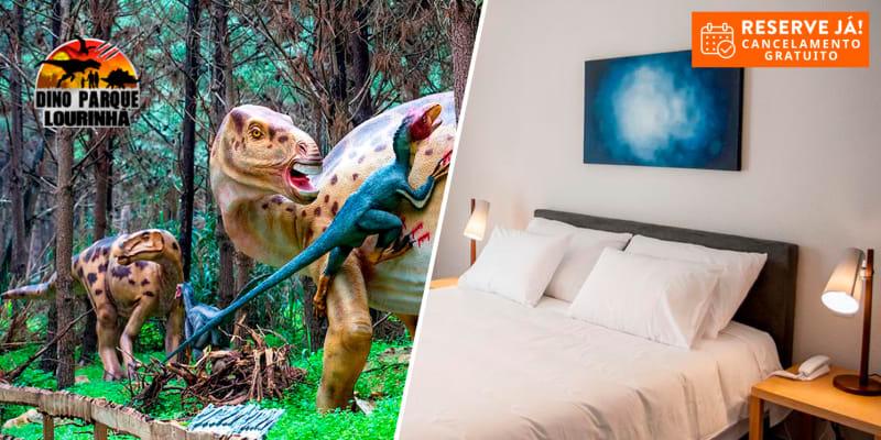 Água dAlma Hotel - Foz do Arelho   Estadia com Opção Vila Natal, Buddha Eden e Dino Parque