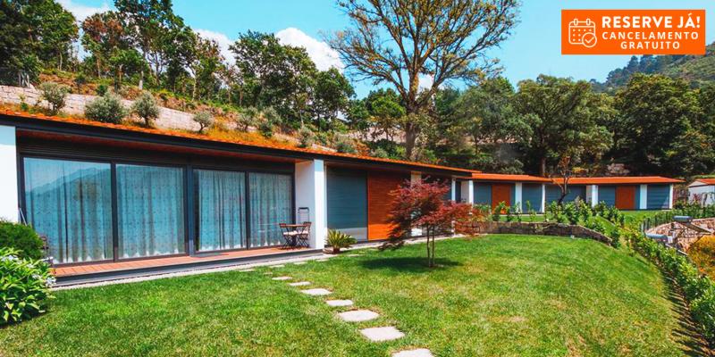 Casas da Encosta de Louredo - Gerês | Estadia Junto à Serra com Opção Meia-Pensão para 5 Pessoas