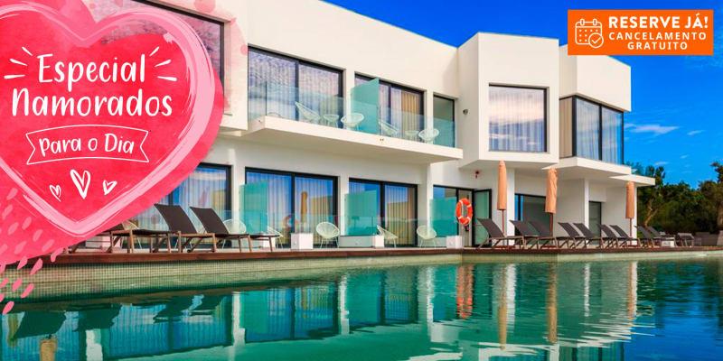 Dia dos Namorados: Enigma - Nature & Water Hotel 4*   Estadia com Jantar Romântico e Acesso ao Spa