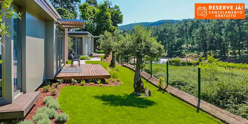 Prazer da Natureza Resort & Spa - Caminha | Estadia & Spa em Villa até 6 Pessoas com Opção Meia-Pensão