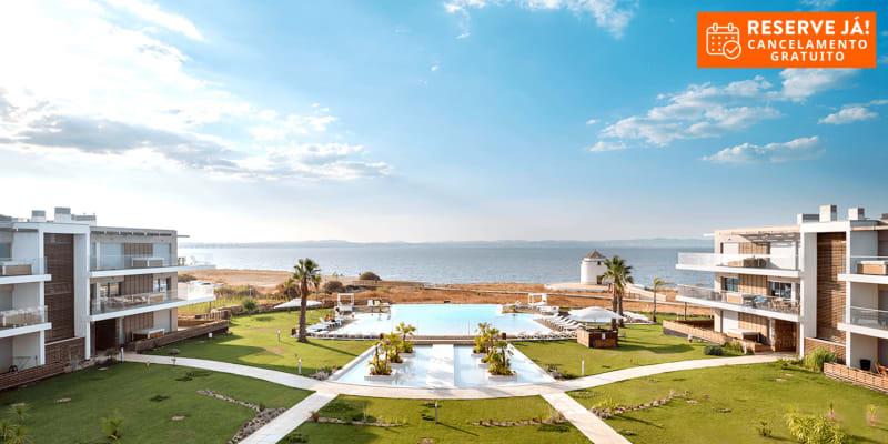 Praia do Sal Lisbon Resort 4* - Alcochete | Estadia Romântica com Opção Massagem