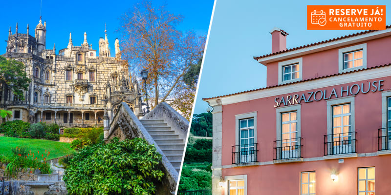Sarrazola House - Sintra | Estadia com Opção Entradas na Quinta da Regaleira e no Palácio da Pena